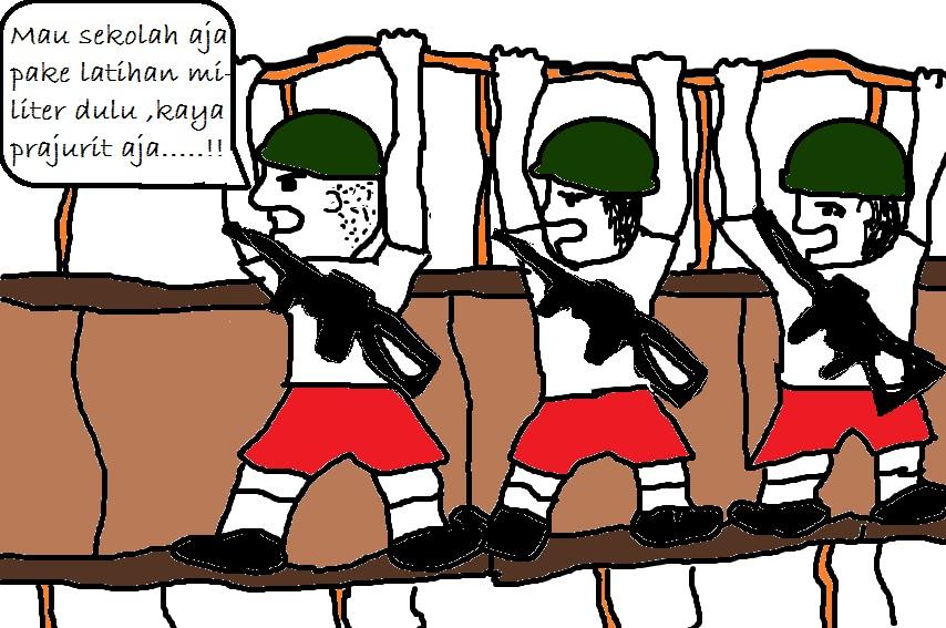 Karikatur Pendidikan Chamber Of Madness