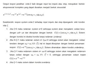 Respon Step Sistem Orde 2 (2)