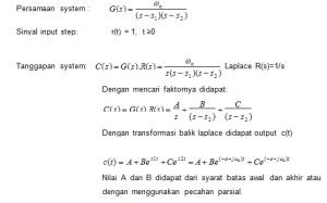 Respon Step Sistem Orde 2