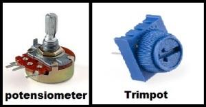 potensiometer dan trimpot